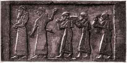 Поднесение дани от царя израильского